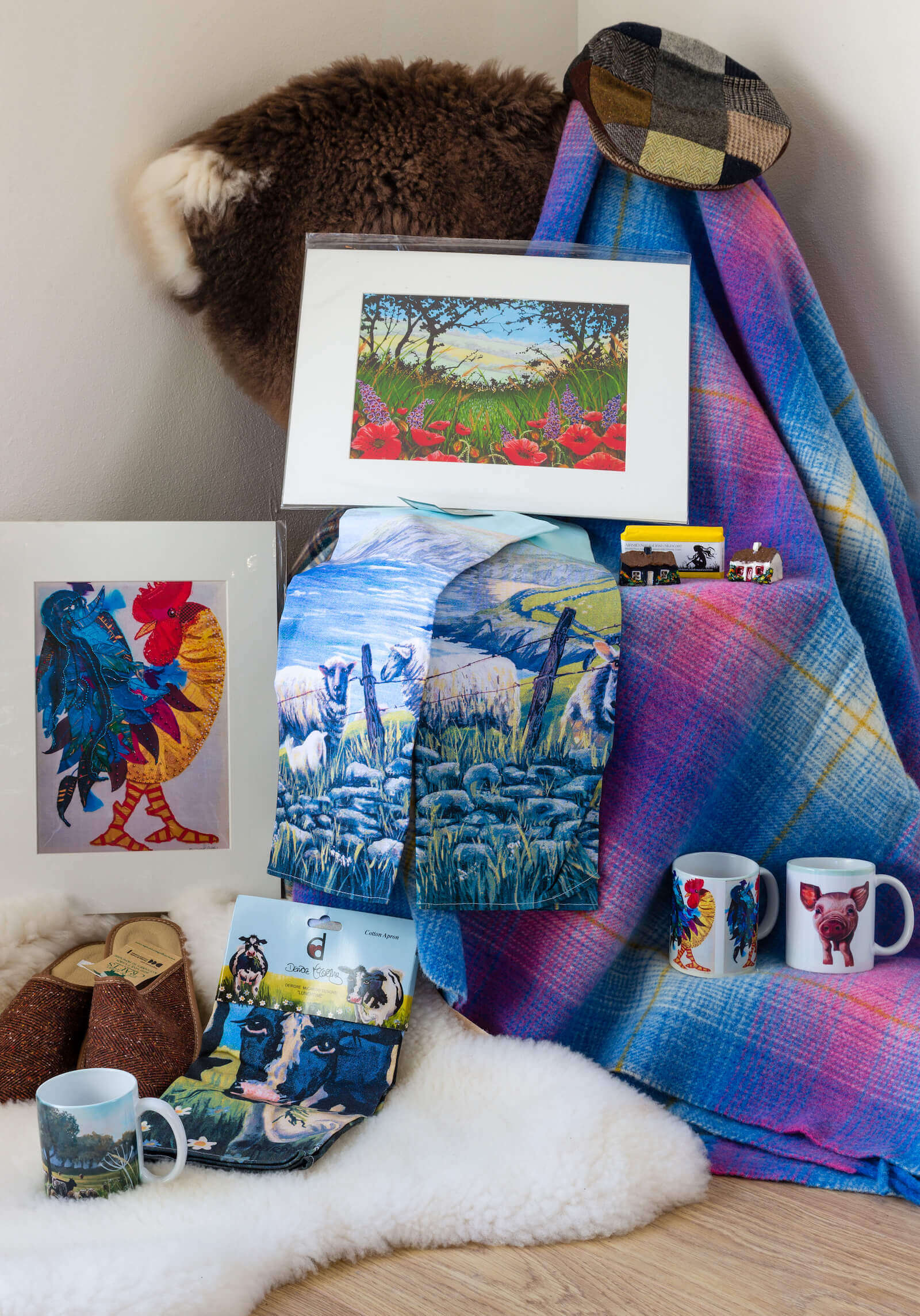 Kerry Crafts and Prints | Valentia Island Farmhouse Dairy Craft Shop